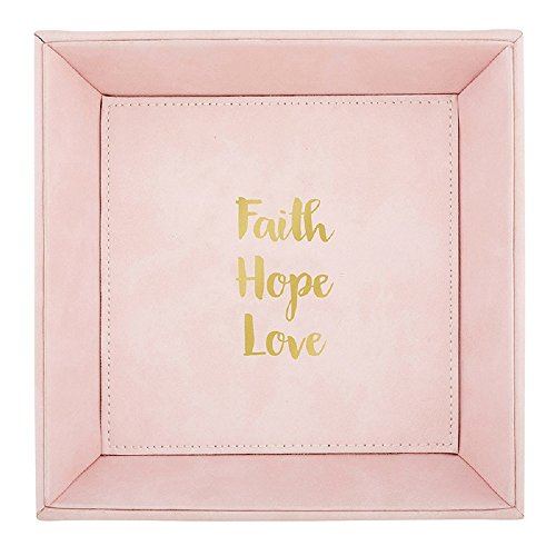 AT001 Faith, Hope, Love Tabletop Tray, 7.5''. by AT001