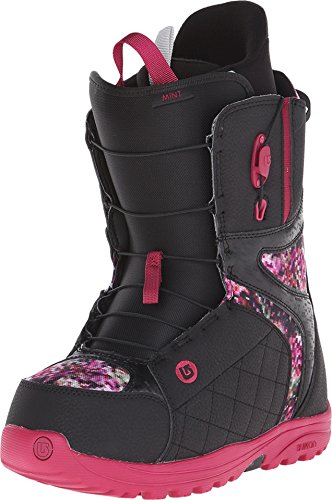 Burton Women's Mint, Black/Floral Pixel 9.5 B - Medium