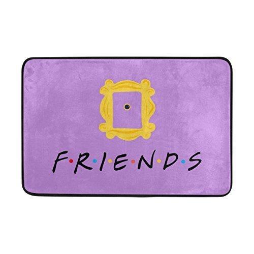 Dick Sidney Entrance Doormat Friends Tv Show Card Indoor/Outdoor Decor Rug Doormat Inch Non-Slip Home Decor