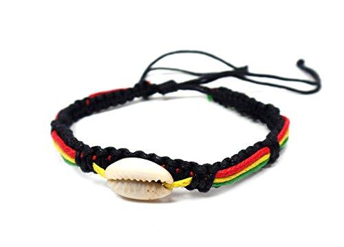 Cowrie-Shell-Macrame-Bracelet-Rasta-Beads-Hemp-Handmade-Reggae-Jamaican-Hawaiien-Style