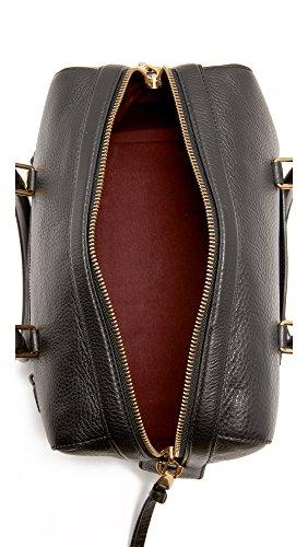 Marc Recruit Jacobs Bag Bauletto Handbag Satchel Black Pq45dTPxw