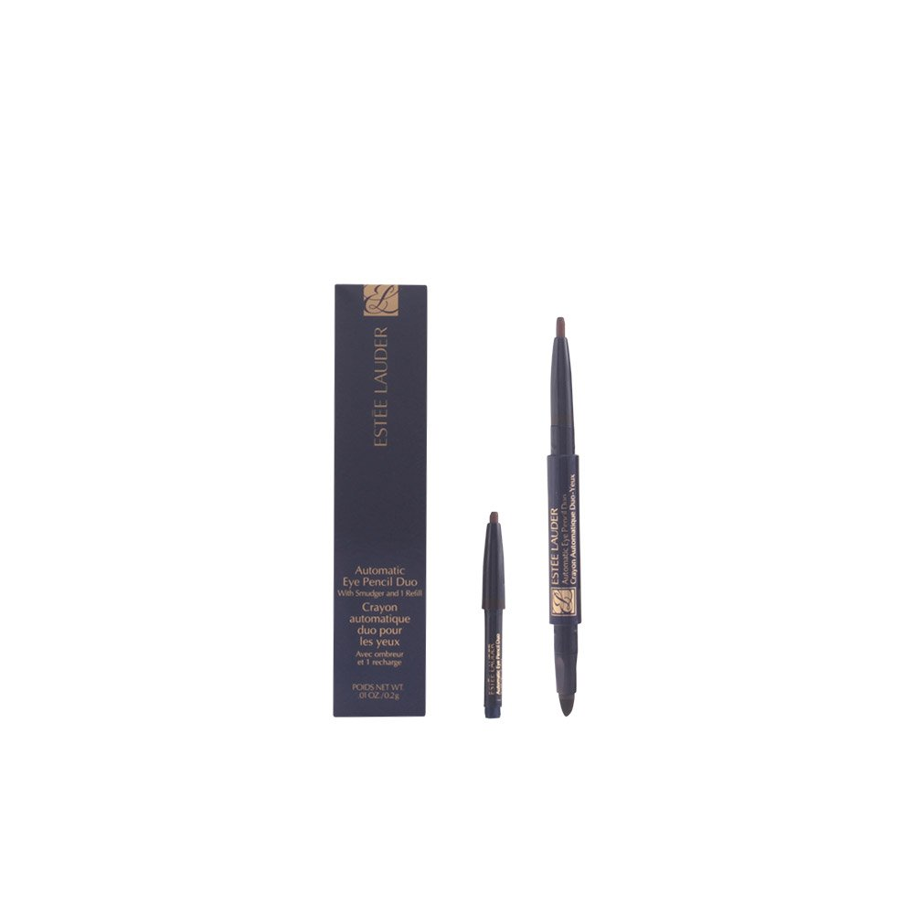 Estee Lauder Automatic Eye Pencil Duo with Smudger & Refill, No. 09 Walnut Brown, 0.01 Ounce