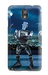 For Galaxy Note 3 Protector Case Robot Phone Cover