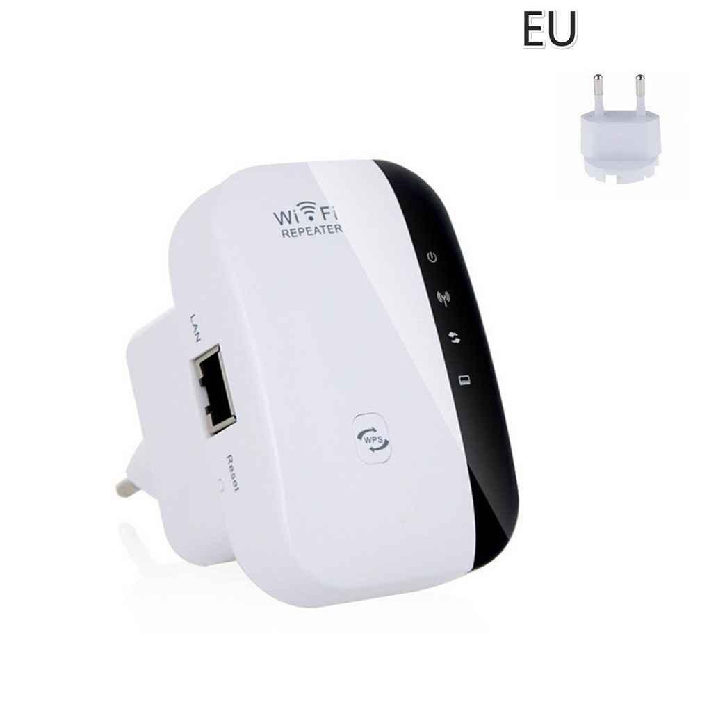 El cifrado Wi-Fi Wireless-N Wi-Fi repetidor de Red Routers 300Mbps expansió n de Rango de presió n de la señ al WiFi Extender Ap WPS Practico FloralLive