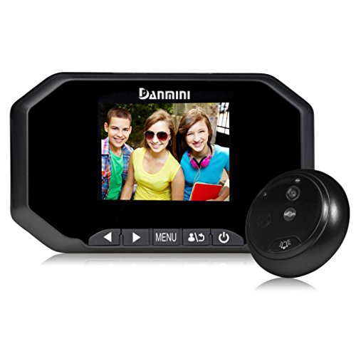 """Price comparison product image Dreamyth 3"""" TFT HD Door Peephole Camera 160 Degrees Detection Video Viewer Night Vision (black)"""