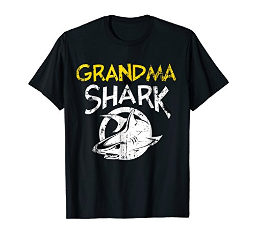 Grandma Shark Funny T Shirt 31st October Halloween Costume -