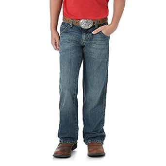 Wrangler Little Boys' Retro Relaxed Boot Jean, Rocky Trail, 4 Reg