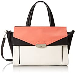 Nine West NW City Chic Lexi Top Handle Bag, Indian Coral Multi, One Size