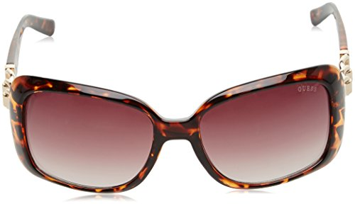 Sol Marrón GF6023 de Mujer Negro 58 5852F Gafas GUESS para IASqx1HAw