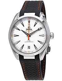 Seamaster Aqua Terra Teak Silver Dial Mens Watch on Grey Rubber Strap 220.12.41.21.02.002