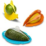Dreamfarm Savel - Flexible Food Saver for Wedges, Halves and Wedge-Outs (Color will vary)