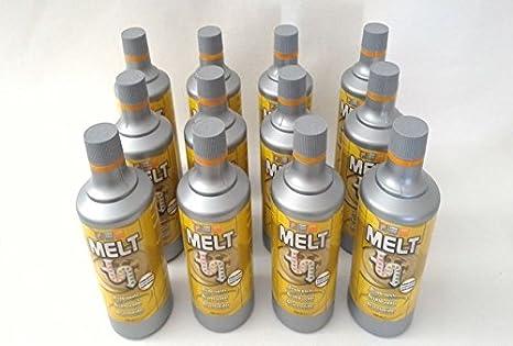 Melt, 12 unidades, desatascador, extractor de ácido, desagüe, fuerte: Amazon.es: Bricolaje y herramientas