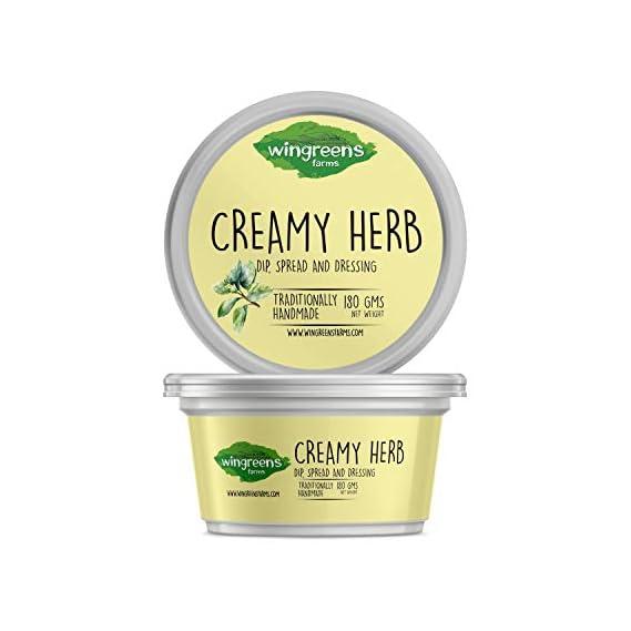 Wingreens Farms Creamy Herb Dip, 180g