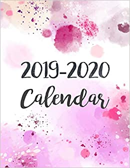 January 2020 Printable Calendardaily Quotes 2019 2020 Calendar: Daily Weekly Monthly Calendar Planner | 24