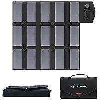 ALLPOWERS Cargador Solar Portátil del Panel 100W 18V 12V Plegable USB Y Un Cargador De Batería Solar del Puerto De DC…