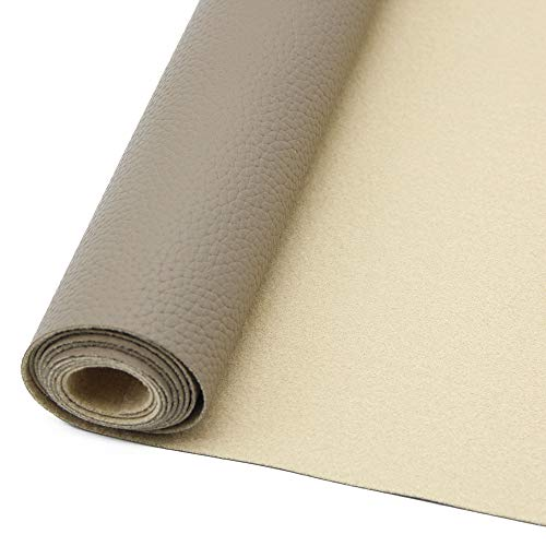 - David accessories Litchi Synthetic Leather Fabric Sheets 1PC 11