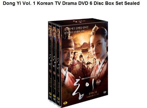 Korean drama DVD, Dong Yi Vol. 1 Korean TV Drama DVD 6 Disc Box Set [Region Code : 3] *NEW & Sealed*