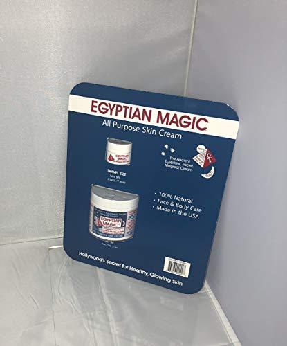 (Egyptian Magic All Purpose Cream 4 oz + 0.5oz Travel size jars)