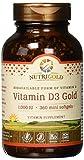 Vitamin D3 1000 IU, 360 Mini Softgels (GMO-free, Preservative-free, Soy-free, USP Grade Natural Vitamin D in Organic Olive Oil) For Sale