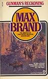 Gunman's Reckoning, Max Brand, 0671612158