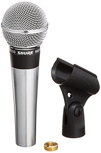 Shure 565SD-LC Microphone without Cable, Silent Magnetic Reed On/Off Switch with Lock-on Option (Shure Cardioid Dynamic Microphone)
