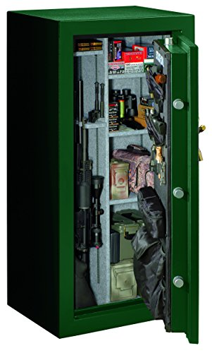 Stack-On E-40-MG-C-S Elite 36-40 Gun Safe with Combination Lock, Matte Hunter Green