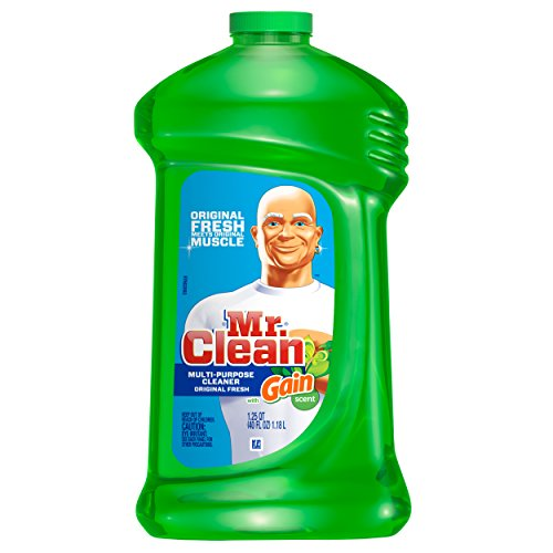 Mr. Clean with Gain Multi Surface Cleaner, Original Fresh Scent, 40 Ounce (Pack of 3)