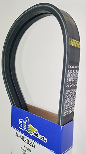 (Belt Made To OEM/FSP Specs With Kevlar Cords to Replace Scag Double Banded Belt 48202, 48202A, Snapper 1-7333, 701733, 7017333YP)
