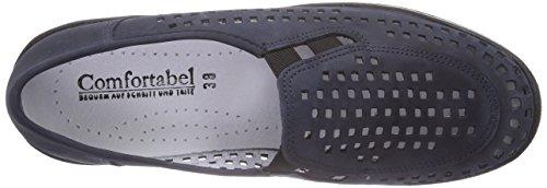 Comfortabel 941643 Damen Slipper Blau (Ozean)