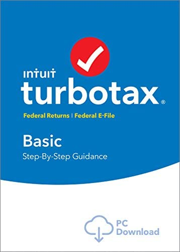 TurboTax Basic 2018 Software Download product image