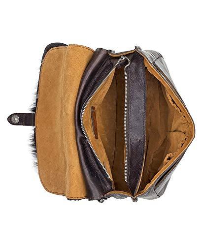 Patricia Leather London Cavalino Women's Nash Cow Saddle Bag Shoulder 7qEPr7wn