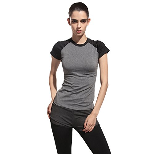 autumn-melody-stylish-women-sports-short-sleeved-t-shirt-high-elasticity-round-neck-collar-tops