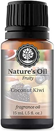Coconut Kiwi Fragrance Oil (15ml) For Diffusers, Soap Making, Candles, Lotion, Home Scents, Linen Spray, Bath Bombs, Slime