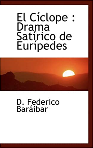 Book El Cíclope: Drama Satírico de Eurípedes