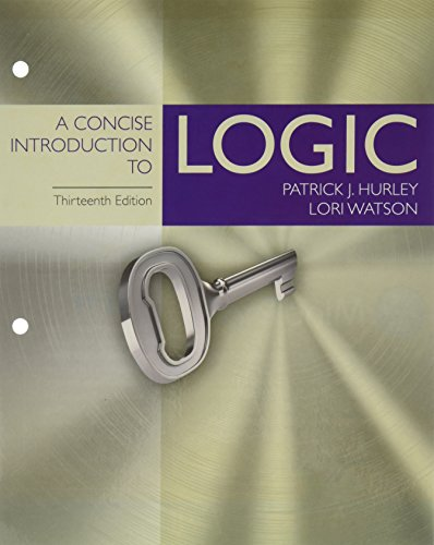 Bundle: A Concise Introduction to Logic, Loose-Leaf Version, 13th + MindTap Philosophy, 1 term (6 months) Printed Access