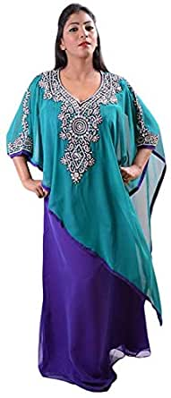 Click on Style Multi Color Party Jalabiya For Women