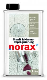 Hervorragend norax Granit & Marmor Imprägnierung 1 l - Dauerhafter Schutz vor MI85