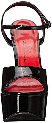 Ellie Shoes Womens 652-giulietta Dress Sandalo Nero