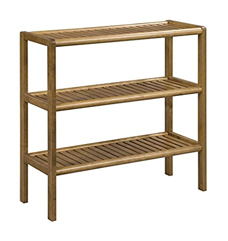 Abingdon New Ridge Home Goods Shelf Console, Cinnamon (Auction Kings Season 3)
