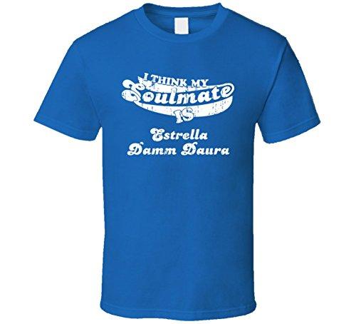 my-soulmate-estrella-damm-daura-spanish-beer-drink-worn-look-t-shirt-2xl-royal-blue