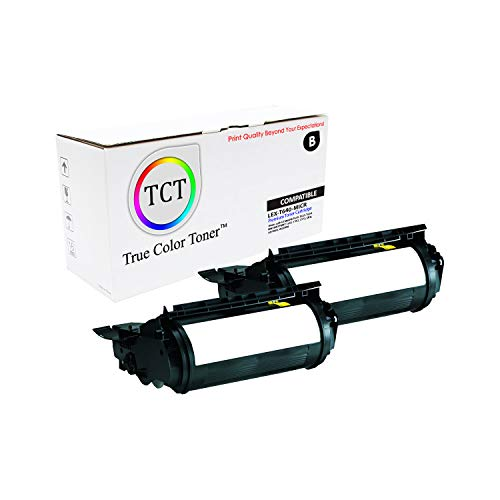 (TCT Premium Compatible Toner Cartridge Replacement for Lexmark 64035HA MICR Black High Yield Works with Lexmark T640 T642 X642 IBM 1532 Dell 5210 Toshiba eStudio 500P Printers (21,000 Pages) - 2 Pack)