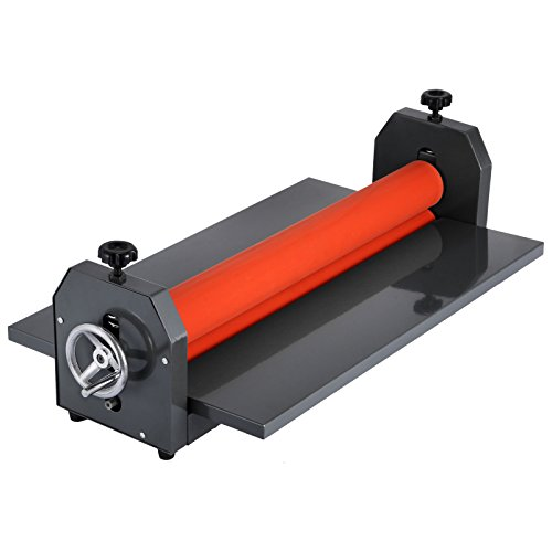 VEVOR Manual Vinyl Photo Film 51inch Cold Roll Laminator 25mm Hand Crank Pressure Sensitive Laminator Machine (51 inch) ()