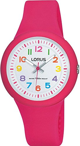 Lorus Kids Pink Strap Watch