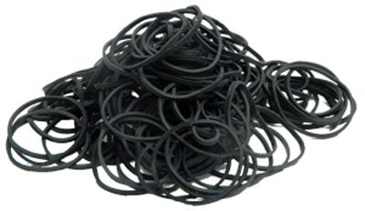 Element Tattoo Supply Black Rubber Bands 500 pack for Machine Needles ()