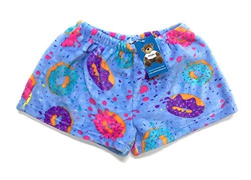 Confetti and Friends Fuzzy Plush Shorts - Delish Donuts - 10/12