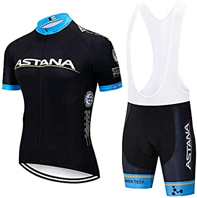 SUHINFE Ciclismo Maillot y Culotte Pantalones Acolchado 5D para ...