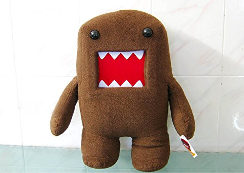 30cm/40cm Domo Kun Kawaii Plush Toys Domokun Funny Stuffed Plush Animals Domo-kun Doll Children Novelty Creative Gift (30cm (11.8 inch))]()