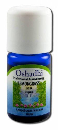 Oshadhi Essential Oil Singles Lemongrass, Org 5 mL