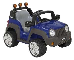 Joovy 4 X 4 Ride On (12 Volt, 2 Motors, 5 MPH, Battery Powered), Blueberry