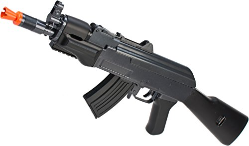 Evike - JG AK Beta Spetsnaz Bolt Action Shell Ejecting Spring Powered Airsoft Replica Rifle